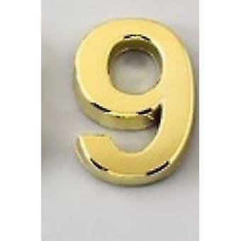 Numéro de plaque de porte numérique 3d- Chiffres en plastique 0 à 9