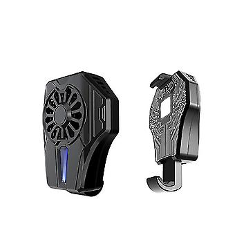 Mobile Phone Game Pad Holder With Bracket Fan Radiator