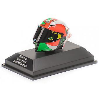 AGV Valentino Rossi (Mugello 2018) i hvit/grønn/oransje