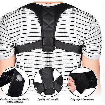Verstelbare houding corrector rugsteun brace schouder wervelkolom ondersteuning lumbale houding