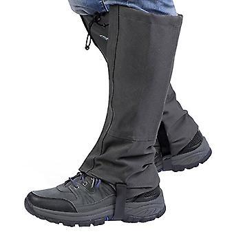 Waterproof Outdoor Hiking Walking Climbing Hunting Snow Legging Gaiters - Size S(deep Grey)