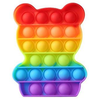 1pcs Push Pop Bubble Sensory Fidget Special Needs Kids Toy