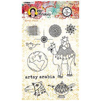 Studio Light Art Tekijä Marlene Clear Stamp Artsy Arabia nr.60 STAMPBM60