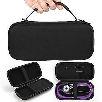 Sac à glissière portable Sac de rangement Eva Hard Carry Case pour 3m Littman / vive Precision Stethoscope