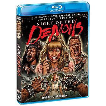 Nacht der Dämonen: Collectors Edition [BLU-RAY] USA Import