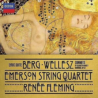 Fleming/Emerson Stri - Berg: Suite lírica; Importación de USA de W [CD]