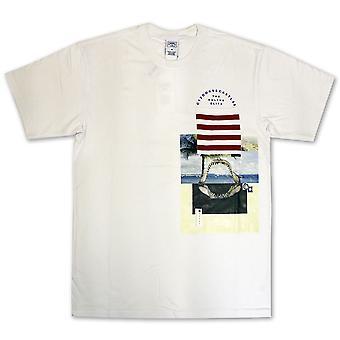 Bandidos & castelos Merz Pocket t-shirt branca