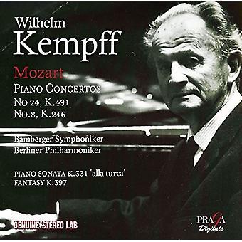 Mozart / Kempff, Wilhelm - Piano Concertos Nos 8 & 24 [CD] USA import