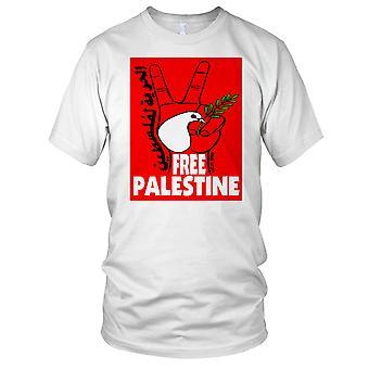 Gratis Palestina fred Dove damer T skjorte