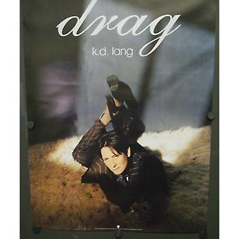 KD Lang Drag Promotional Poster
