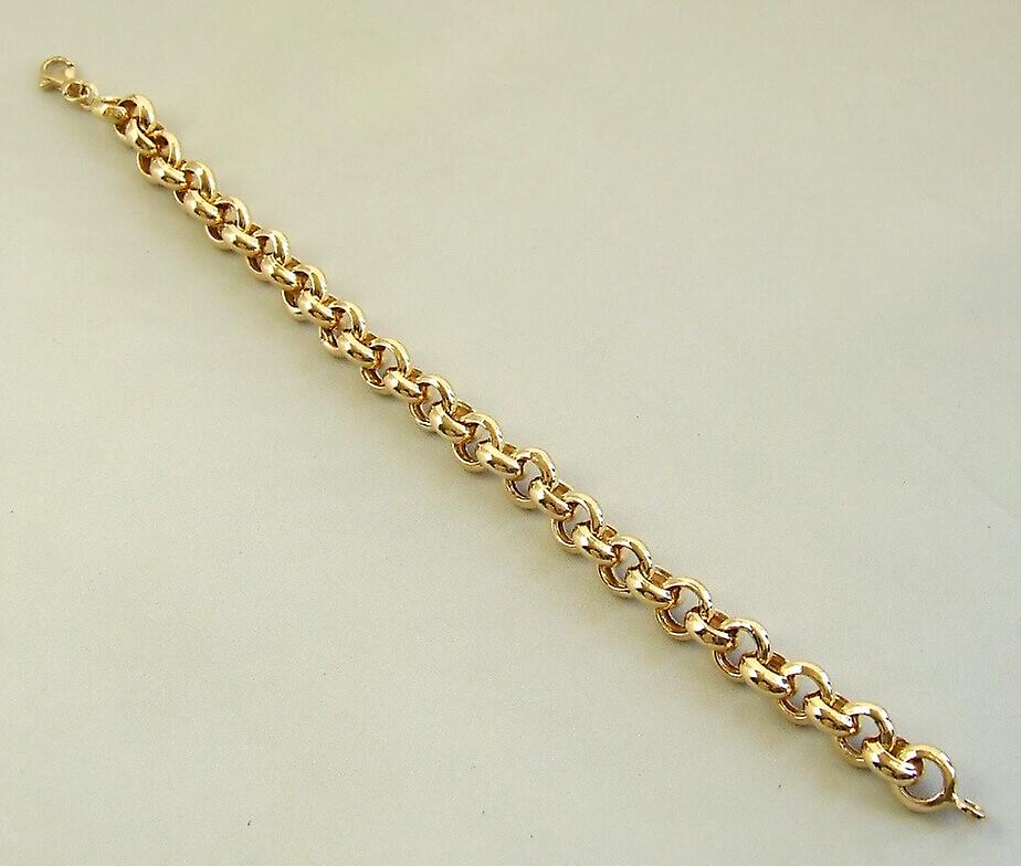 Golden jasseron bracelet
