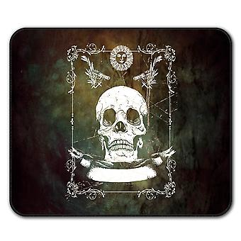 Guns Skeleton Death  Non-Slip Mouse Mat Pad 24cm x 20cm | Wellcoda