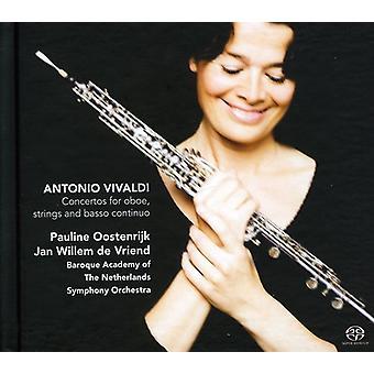 A. Vivaldi - Vivaldi: Concertos for Oboe, Strings & Basso Continuo [SACD] USA import