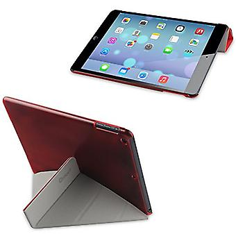 Muvit MUCTB0207 Fold'N'Stand Cover Case for Apple iPad 5 and iPad Air - Red