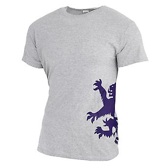 Unisex Short Sleeve Lion Rampant Of Scotland T-Shirt