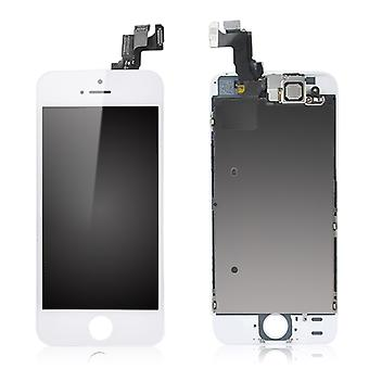 For iPhone SE - Complete LCD Screen - White - High Quality