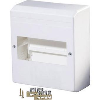 F-Tronic 7260015 KV06K Switchboard cabinet Surface-mount No. of partitions = 6 No. of rows = 1