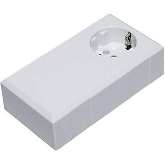 TRU COMPONENTS ESO 1250 E Connector housing 125 x 67 x 50 Polycarbonate (PC), Acrylonitrile butadiene styrene Light grey 1 pc(s)