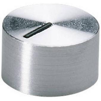OKW A1412441 Control knob Aluminium (Ø x H) 12 mm x 7.2 mm 1 pc(s)