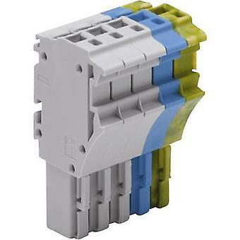 WAGO 2022-105/000-038 1 conducteur Clip connecteur série 2022 vert-jaune, bleu, gris