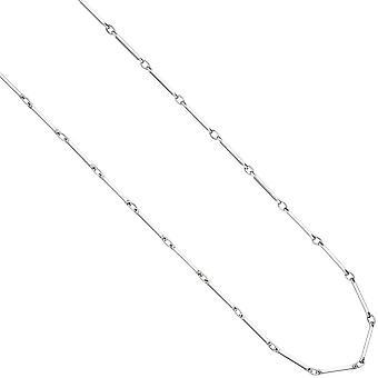 Collier Halskette 925 Sterling Silber 42 cm Kette Silberkette