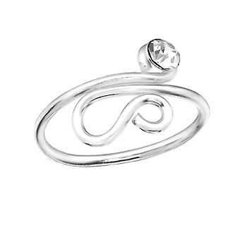 Snake - 925 Sterling Silver Toe Rings - W28621X