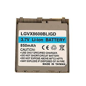 بطارية قياسية تيتشنوسيل ليثيوم أيون ل LG vx8600 استبدال، AX8600--الذهب