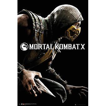 Mortal Kombat X Cover juliste Juliste Tulosta