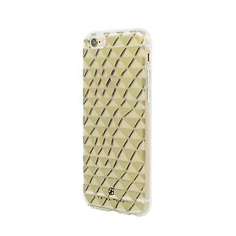 Trina Turk Hard Shell Case for Apple iPhone 6 & 6S - Gold/Clear