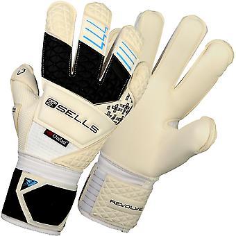 SELLS ELITE REVOLVE AQUA CAMPIONE Goalkeeper Gloves Size