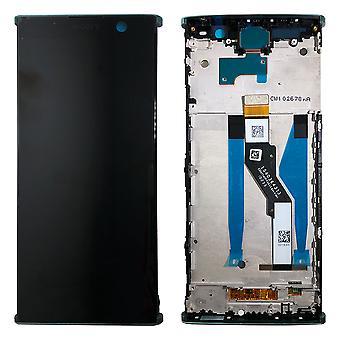 Sony Display LCD Komplett Einheit für 78PC5100040 Xperia XA2 Plus H3413 H4413 H4493 Grün mit Rahmen Ersatzteil Neu