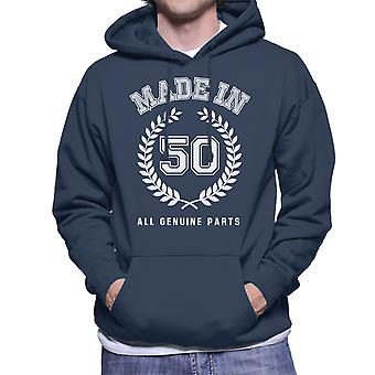 Made In 50 All Genuine Parts Men's Hooded Sweatshirt
