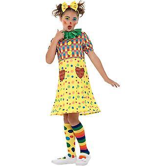 Clown Zirkus Kostüm Mädchen, Mädchen Fancy Dress, große Jahre 10 bis 12
