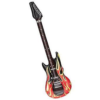 Guitarra inflável.