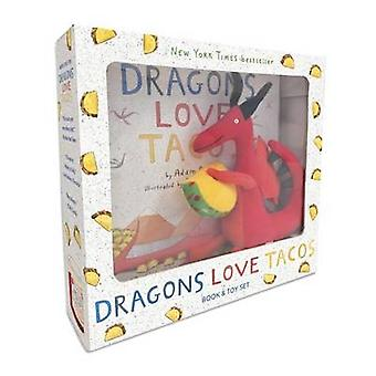 Dragons Love Tacos Book and Toy Set by Adam Rubin - Daniel Salmieri -