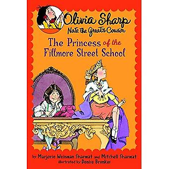 The Princess of the Fillmore Street School (Olivia Sharp; Nate the Great's Cousin)