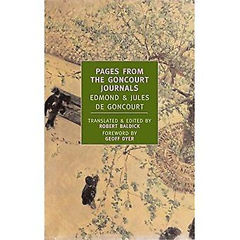 Pages From the Goncourt Journals (New York Review Books Classics)