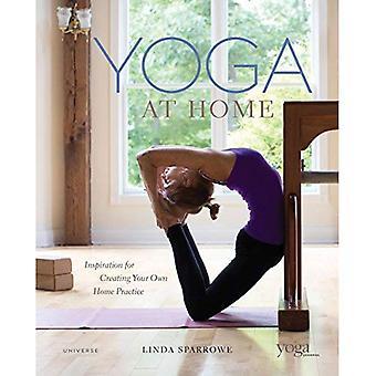 Yoga zu Hause: Inspiration für die Erstellung Ihrer eigenen Hause üben