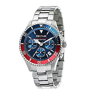 SECTOR NO LIMITS watch chronograph quartz men with stainless steel strap R3273661008