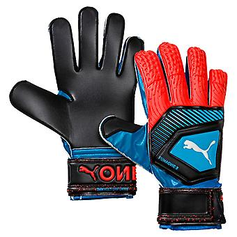 PUMA one protect 3 goalkeeper gloves blue-red-black