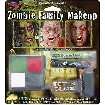 Zombie perhe Makeup Kit