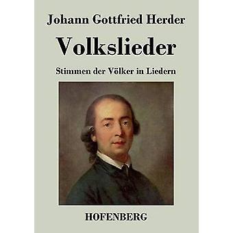 Volkslieder von Johann Gottfried Herder