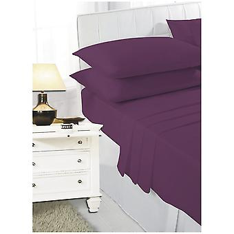 Extra Deep 16 inch 40cm PolyCotton Easy Care Fitted Bed Sheets Bed Linen