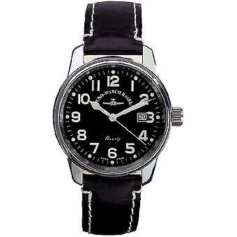 Zeno-horloge mens watch klassieke pilot datum 3315Q-a1