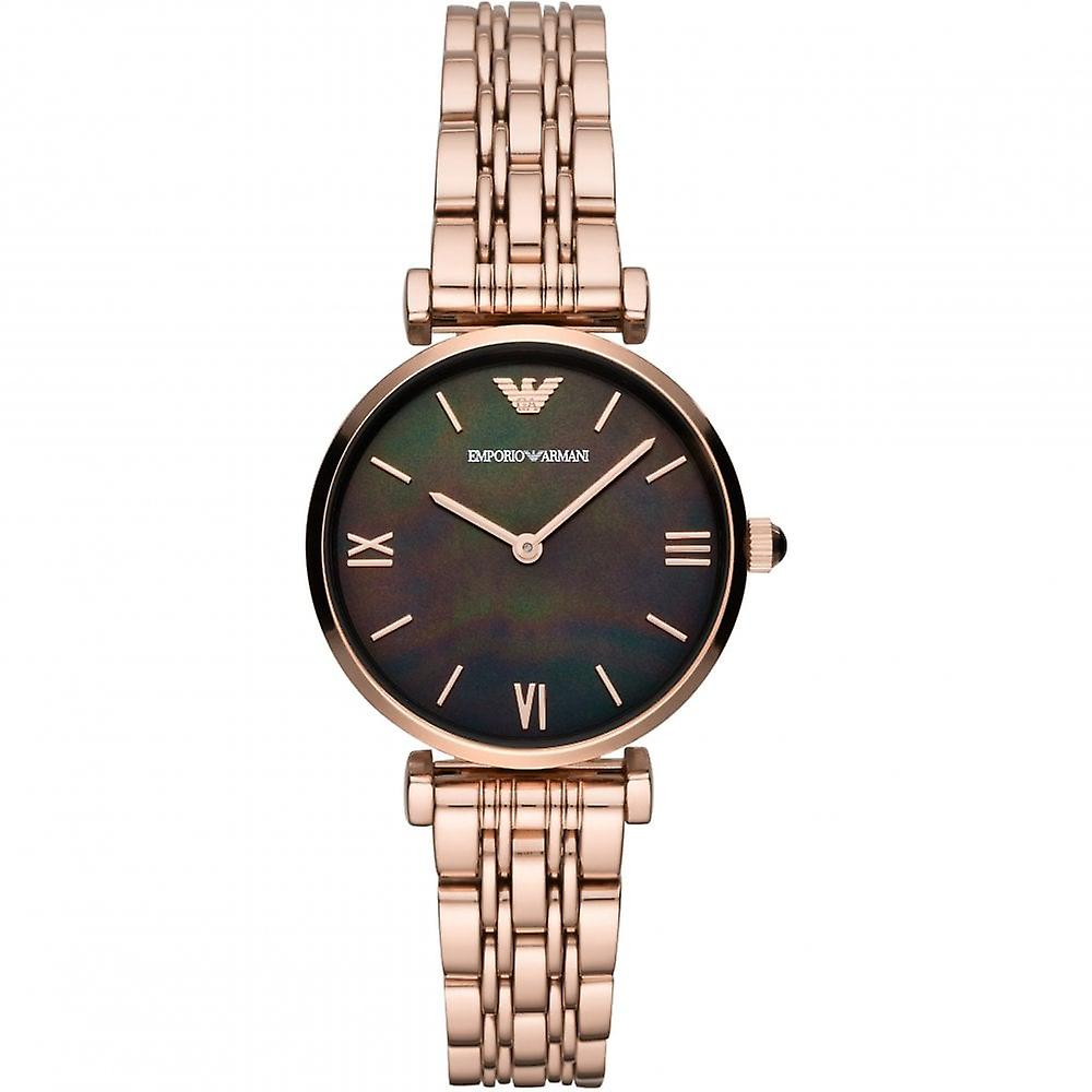 Armani Watches Ar11145 Rose Gold & Mother Of Pearl Ladies Watch