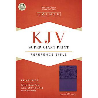Super Giant Print Reference Bible-KJV (large type edition) by Broadma