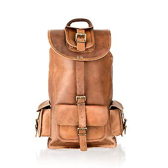 Vintage Tan Back Pack 16