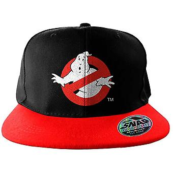 Ghostbusters Logo Embroidered Snapback Cap