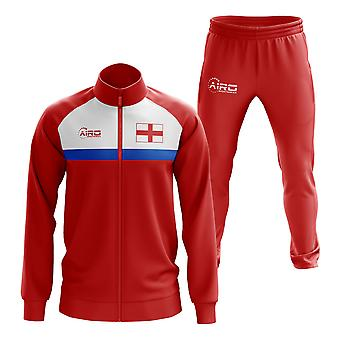 England Concept fotball treningsdrakt (Red)