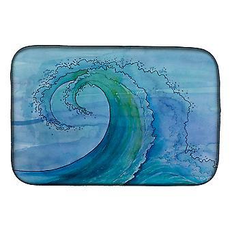 Carolines Treasures BB8531DDM abstrakti Wave lautasen kuivaus matto